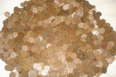 4300 Copper Wheats  40's And 50's P D S Mints