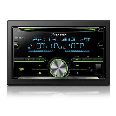 Pioneer FH-X730BT Double Din Bluetooth Spotify CD USB Aux iPhone Android Stereo