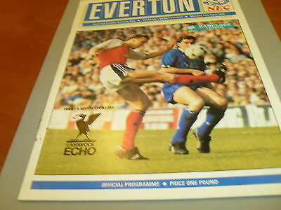 Everton v Derby 89/90