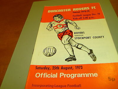 Doncaster v Stockport 73/74