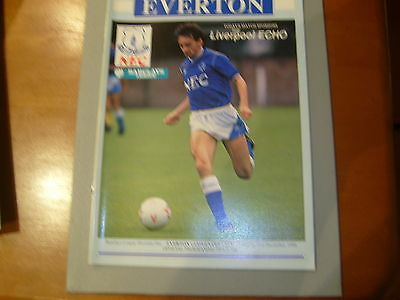 Everton v Coventry 88/89