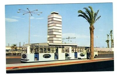 Public Trams at Los Angeles International Airport LAX Postcard
