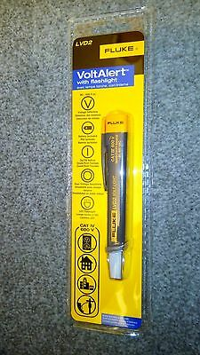 Fluke LVD2 Non-Contact Voltage Light Detector with LED Flashlight