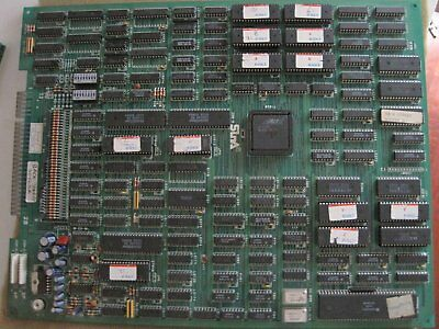 Pcb Jamma Back Street Soccer \free Shipping Worldwide With Tracking Number//
