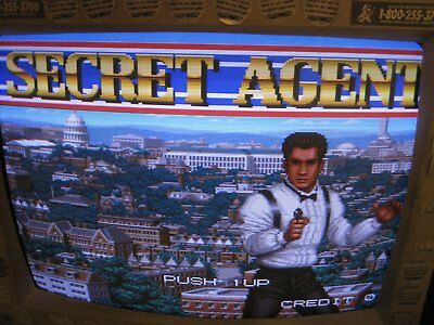 Pcb Jamma Secret Agent \\free Shipping Worldwide With Tracking Number////