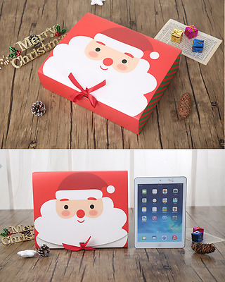 High Quality Xmas Christmas Eve Gift Box Favour Present Gifts Candy Boxes Superb