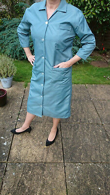 Grey Blue Nylon Overall in excellent condition