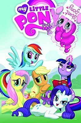 My Little Pony Friendship Is Magic Volume 2 by Heather Nuhfer New Paperback Book