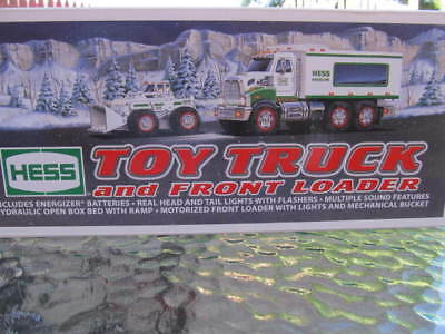 2008 Hess Toy Truck  & Front Loader