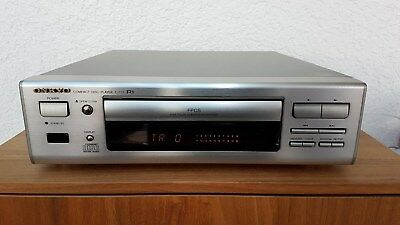 onkyo dx 7355 cd cd player silber spielt audio cds mp3. Black Bedroom Furniture Sets. Home Design Ideas