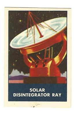 1950's SOLAR DISINTEGRATOR RAY Chex Cereal Premium Rockets Jets Weapons Series