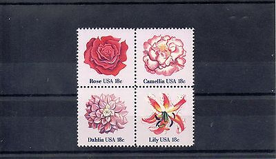 UNITED STATES 1981 SG 1846 to 1849 MNH