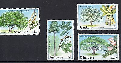 St Lucia 1984  SG 699 to 702 U/M
