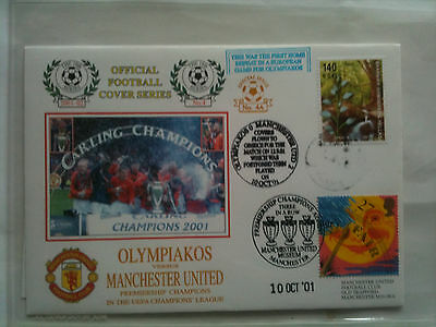 MINT 2001/02 Olympiakos v Manchester United Champions League