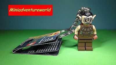 Lego GENUINE BRAND NEW Minifigure Keyring Mordor Orc Ideal Gift Keychain