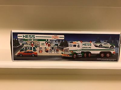 1991 Toy Truck and Racer Hess truck
