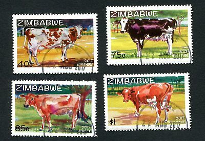 2017 ZIMBABWE  - EXOTIC DAIRY COWS new  CTO  - 22nd AUGUST 2107
