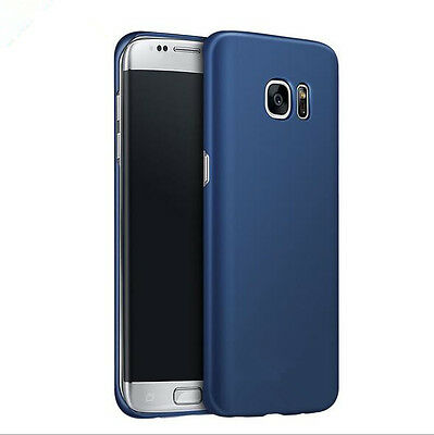 Luxury Ultra Thin Slim Hard matte Back Case Cover For Samsung Galaxy S7 S8 Plus