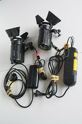 Dedolight light kit with dimmers