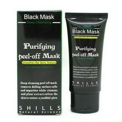PILATEN Black Mask - Mascarilla Negra anti Puntos Negros - Purifying Peel Off