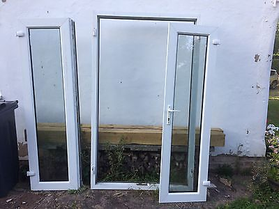 Upvc french doors 2500x2100 picclick uk for Double glazed upvc patio doors