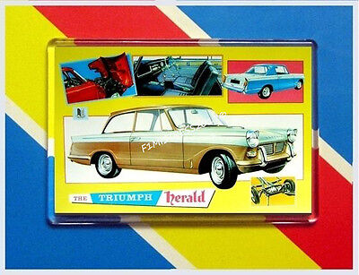 Triumph Herald New Jumbo Fridge / Locker Magnet