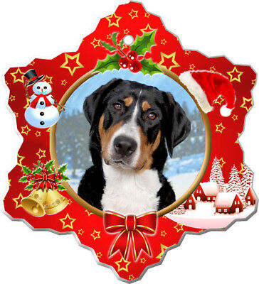 Greater Swiss Mountain Dog Porcelain Ornament