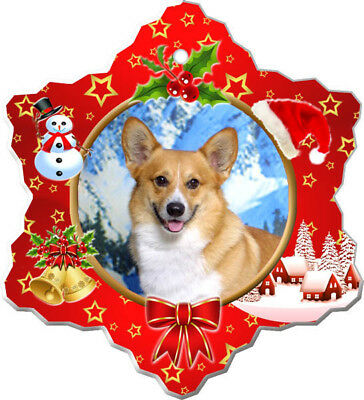 Pembroke Welsh Corgi Porcelain Ornament