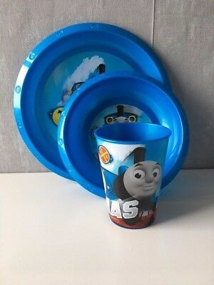 Thomas the Tank Engine 3 piece dinner set brand new!