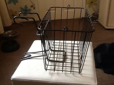 metal front Bicycle Cycle  basket And Carrier .