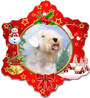 Sealyham Terrier Porcelain Ornament