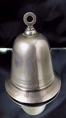 Vintage Kirk Stieff Musical Annual Bell Jingle Bells 1977 Silver Plated No Box