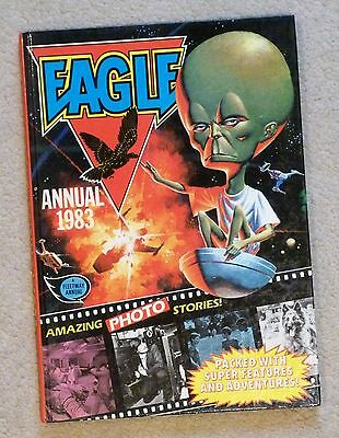 Eagle Annual 1983 - Price Unclipped - Complete - Dan Dare etc.