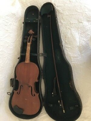 Antique Violin Antonius Stradiuarius Made In Germany