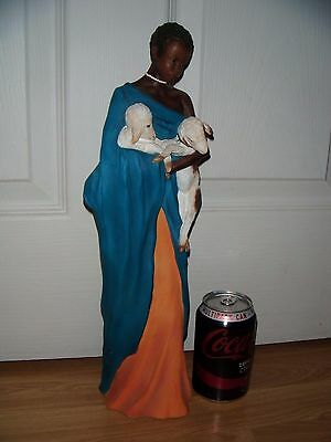 Soul Journeys Maasai Figurine: 'Nuru ~ Holder Of Dreams' ~ 2001 ~ Excellent
