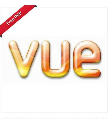 Vue Cinema Tickets Vouchers Codes Adult 2D - USE ANY DAY ANY TIME