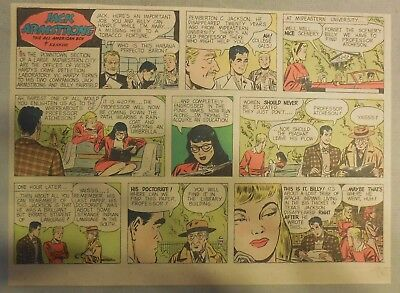 Jack Armstrong The All American Boy #1 by Bob Schoenke 6/1/1947 Half Size Page !