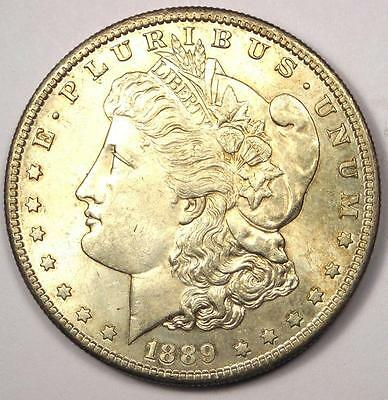 1889-S Morgan Silver Dollar $1 - Rare Date - Excellent Condition - Nice Luster!