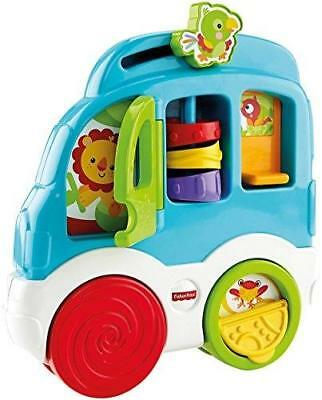 Fisher Price - Formes À Trier Et À Empiler - Mon Bus Dé