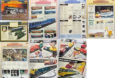 Hornby 00 Scale booklet Catalogue 1984