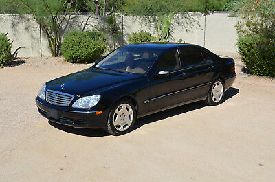 2004 Mercedes-Benz S-Class S600 V12 2004 Mercedes S600, Twin Turbo V12, 56k Miles, 2nd Owner, Perfectly Maintained