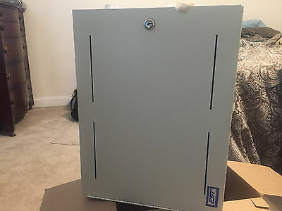 Spx Battery Cabinet Bc-1 Fire Alarm Casing 18.5 X 13.5 New In Box Metal With Key