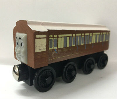 THOMAS & FRIENDS Old Slow Coach Magnetic Wooden Toy Train Loose Kids ...