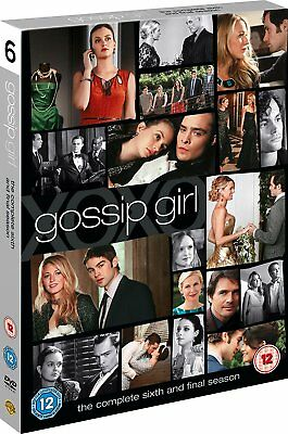 Gossip Girl The Complete Sixth And Final Season 6 Dvd Brand New And Sealed