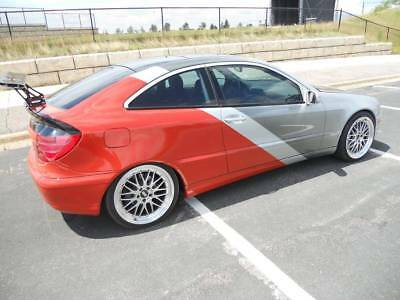 2003 Mercedes-Benz C-Class  2003 Mercedes-Benz C320 McLaren Modified Racing Car