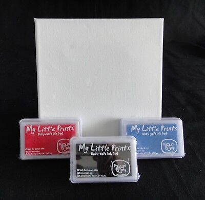 Bulk Wholesale 216x Baby Safe Ink Pad for Footprints and Handprints w. Canvases