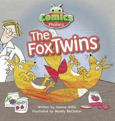 Bug Club Comics for Phonics Set 06 Red A The Fox Twins by Willis, Jeanne Book