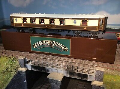 Golden Age O Gauge White Roof Pullman Coach - First Class Kitchen Car - PHYLLIS