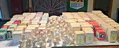 Large Lot Precious Moments  Boxes 152 Total