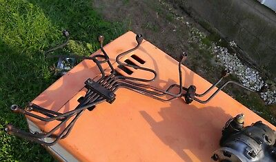 Allis Chalmers 200 190xt  tractor 2900 engine injector fuel lines